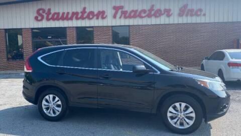 2012 Honda CR-V for sale at STAUNTON TRACTOR INC in Staunton VA