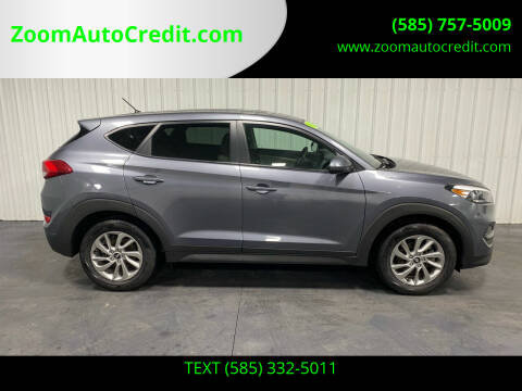 2018 Hyundai Tucson for sale at ZoomAutoCredit.com in Elba NY