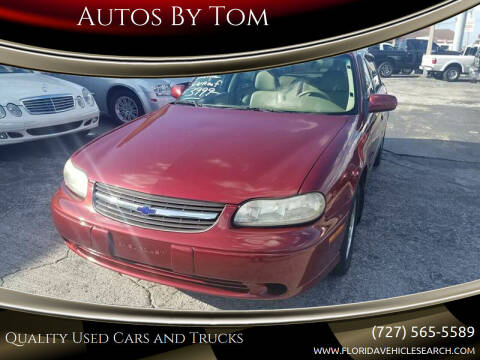 2002 Chevrolet Malibu for sale at Autos by Tom in Largo FL