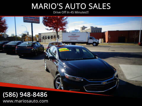 2016 Chevrolet Malibu for sale at MARIO'S AUTO SALES in Mount Clemens MI