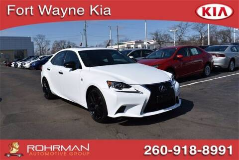2015 Lexus IS 250 for sale at BOB ROHRMAN FORT WAYNE TOYOTA in Fort Wayne IN