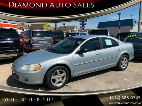2001 Chrysler Sebring for sale at Diamond Auto Sales in Milwaukee WI