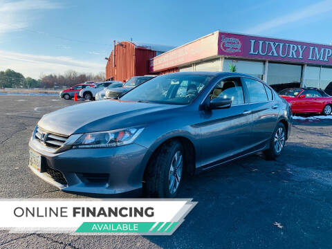 2013 Honda Accord for sale at LUXURY IMPORTS AUTO SALES INC in North Branch MN