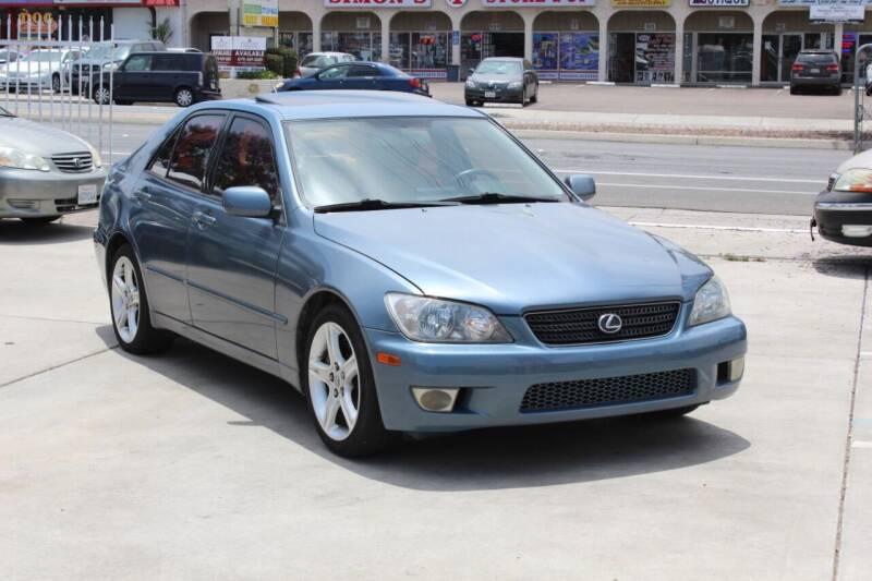 2005 Lexus IS 300 for sale at Car 1234 inc in El Cajon CA