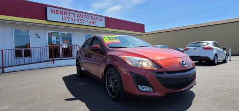 2011 Mazda MAZDA3 for sale at Henry's Autosales, LLC in Reno NV