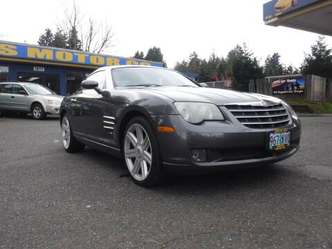 2004 Chrysler Crossfire for sale at Brooks Motor Company, Inc in Milwaukie OR