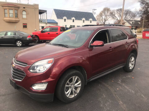 2017 Chevrolet Equinox for sale at RT Auto Center in Quincy IL