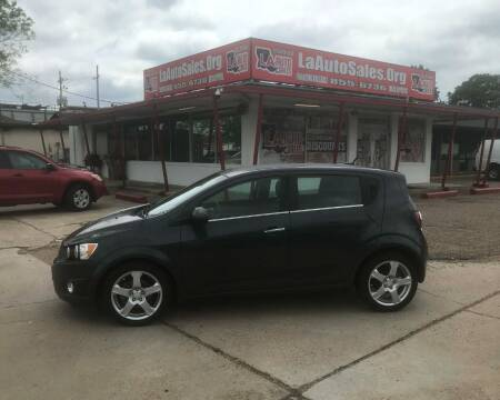 2014 Chevrolet Sonic for sale at LA Auto Sales in Monroe LA