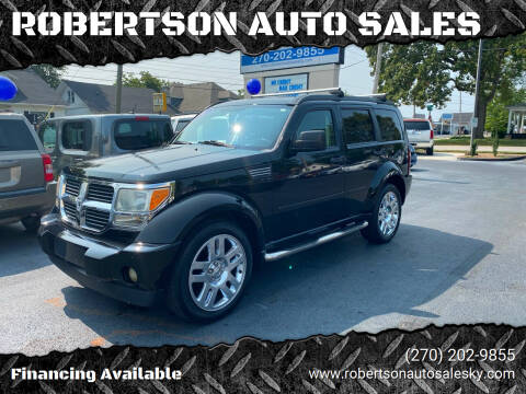2007 Dodge Nitro for sale at ROBERTSON AUTO SALES in Bowling Green KY