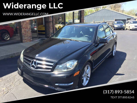 2012 Mercedes-Benz C-Class for sale at Widerange LLC in Greenwood IN