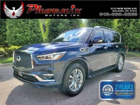 2019 Infiniti QX80 for sale at Phoenix Motors Inc in Raleigh NC