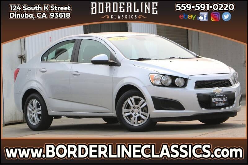 2015 Chevrolet Sonic for sale at Borderline Classics in Dinuba CA
