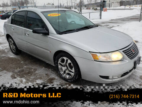 2005 Saturn Ion for sale at R&D Motors LLC in Cleveland OH