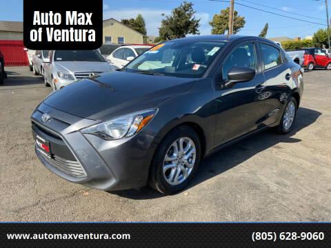 2017 Toyota Yaris iA for sale at Auto Max of Ventura in Ventura CA
