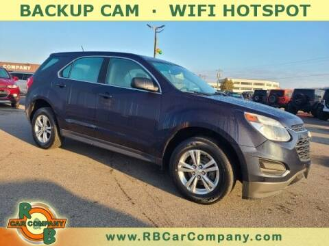 2016 Chevrolet Equinox for sale at R & B Car Co in Warsaw IN