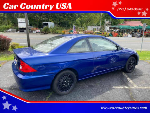 2005 Honda Civic for sale at Car Country USA in Augusta NJ