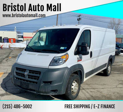 2016 RAM ProMaster Cargo for sale at Bristol Auto Mall in Levittown PA