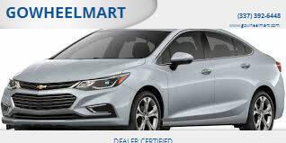 2018 Chevrolet Cruze for sale at GOWHEELMART in Leesville LA