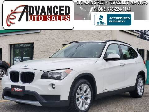 2014 BMW X1 for sale at Advanced Auto Sales in Tewksbury MA