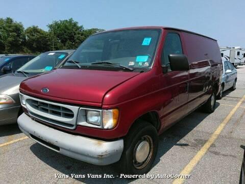 1998 Ford E-150 for sale at Vans Vans Vans INC in Blauvelt NY