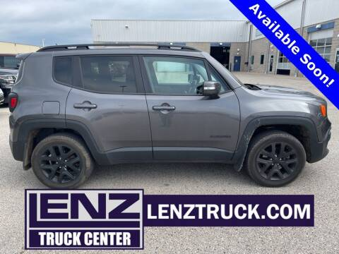 2017 Jeep Renegade for sale at LENZ TRUCK CENTER in Fond Du Lac WI