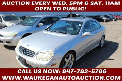 2004 Mercedes-Benz CLK for sale at Waukegan Auto Auction in Waukegan IL