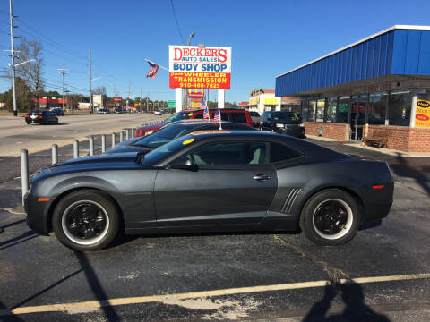 2011 Chevrolet Camaro for sale at Deckers Auto Sales Inc in Fayetteville NC