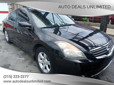 2007 Nissan Altima for sale at AUTO DEALS UNLIMITED in Philadelphia PA