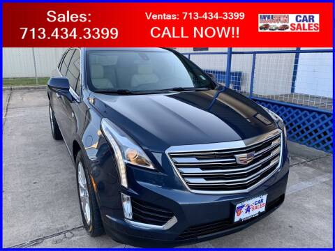 2018 Cadillac XT5 for sale at HOUSTON CAR SALES INC in Houston TX