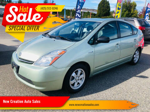 2009 Toyota Prius for sale at New Creation Auto Sales in Everett WA