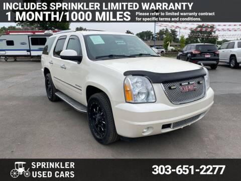 2010 GMC Yukon for sale at Sprinkler Used Cars in Longmont CO