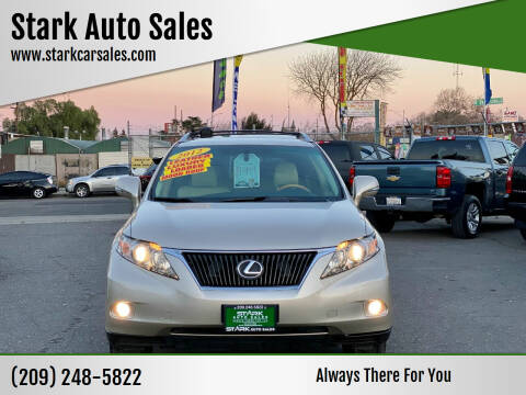 2012 Lexus RX 350 for sale at Stark Auto Sales in Modesto CA