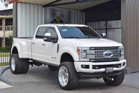 2019 Ford F-350 Super Duty for sale at G MOTORS in Houston TX