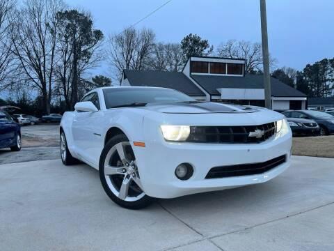 2012 Chevrolet Camaro for sale at Alpha Car Land LLC in Snellville GA