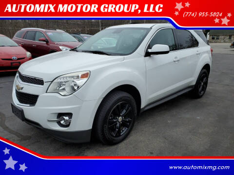 2012 Chevrolet Equinox for sale at AUTOMIX MOTOR GROUP, LLC in Swansea MA