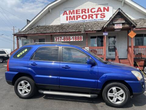 2009 Kia Sportage for sale at American Imports INC in Indianapolis IN