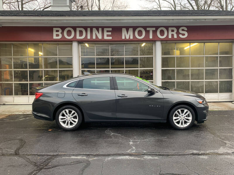 2018 Chevrolet Malibu for sale at BODINE MOTORS in Waverly NY