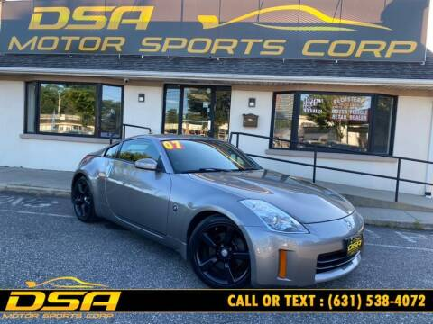 2007 Nissan 350Z for sale at DSA Motor Sports Corp in Commack NY
