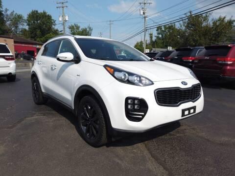2019 Kia Sportage for sale at RS Motors in Falconer NY