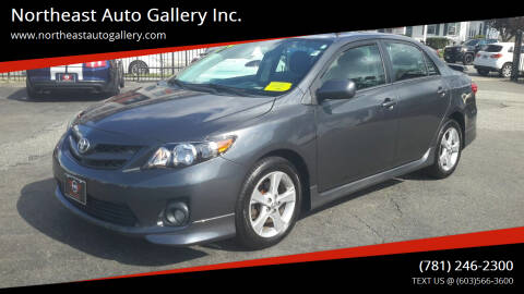 2012 Toyota Corolla for sale at Northeast Auto Gallery Inc. in Wakefield MA