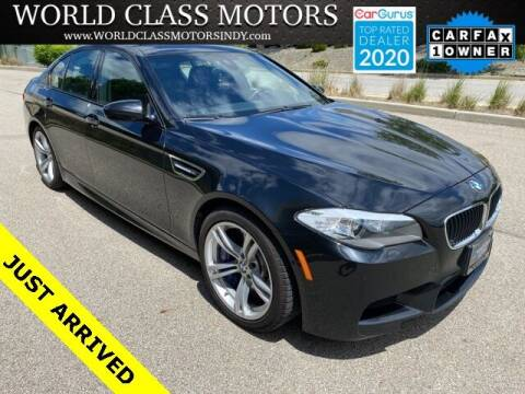 2013 BMW M5 for sale at World Class Motors LLC in Noblesville IN