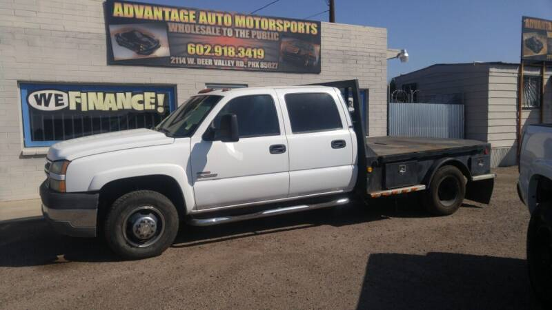 2005 Chevrolet Silverado 3500 for sale at Advantage Auto Motorsports in Phoenix AZ