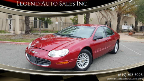 1998 Chrysler Concorde for sale at Legend Auto Sales Inc in Lemon Grove CA