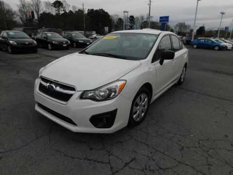 2014 Subaru Impreza for sale at Paniagua Auto Mall in Dalton GA