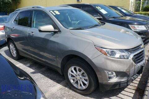 2018 Chevrolet Equinox for sale at Michael's Auto Sales Corp in Hollywood FL