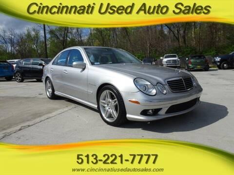 2005 Mercedes-Benz E-Class for sale at Cincinnati Used Auto Sales in Cincinnati OH