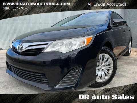 2014 Toyota Camry for sale at DR Auto Sales in Scottsdale AZ