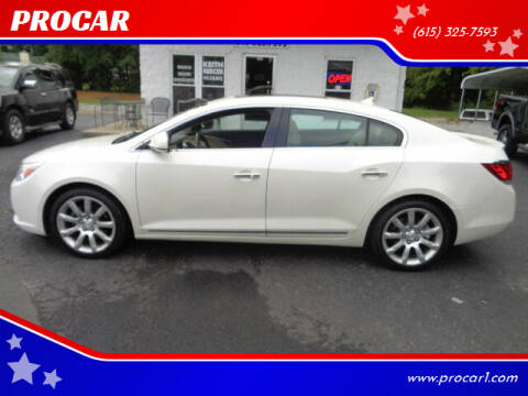 2011 Buick LaCrosse for sale at PROCAR in Portland TN