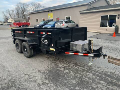2021 Cam Superline 6x12 HD Dump for sale at Smart Choice 61 Trailers in Shoemakersville PA