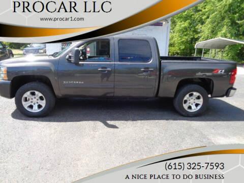 2011 Chevrolet Silverado 1500 for sale at PROCAR LLC in Portland TN